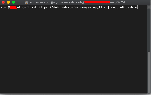 Install NodeJs on Ubuntu